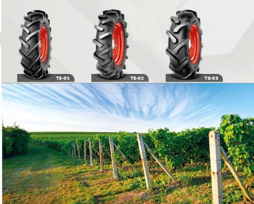 Foto de Neumáticos para pequeños tractores