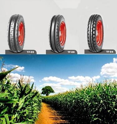 Foto de Neumáticos delanteros de tractor