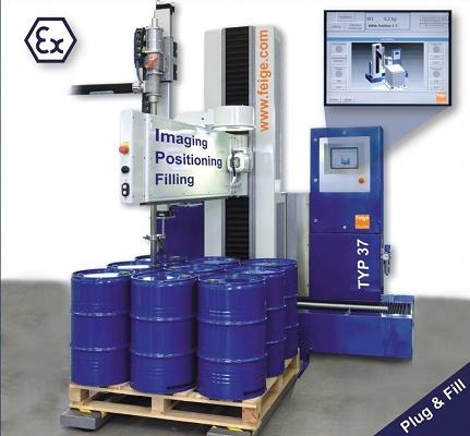 Foto de Sistemas de llenado de bidones automáticos