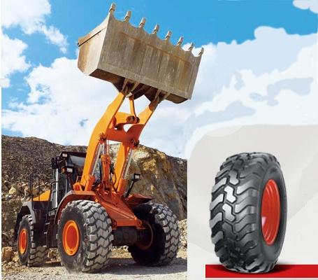 Foto de Neumáticos radiales muevetierras
