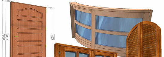 Foto de Software para creación de proyectos paramétricos de puertas