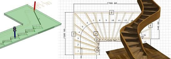 Foto de Software CAD para la creación de proyectos de escaleras