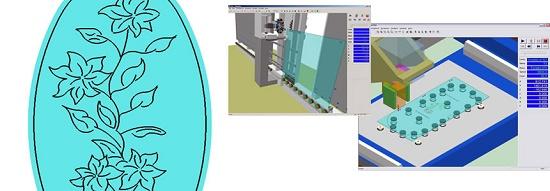 Foto de Software CAD/CAM para el mecanizado del vidrio