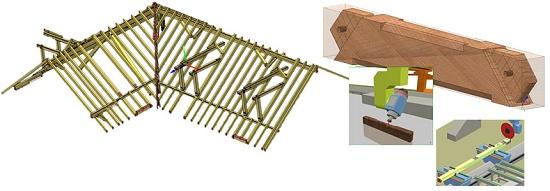 Foto de Software para creación de vigas de madera