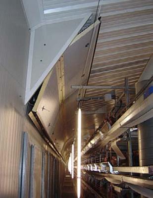 Foto de Sistemas de entrada de aire en naves avícolas