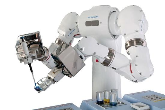 Foto de Robot humanoide de doble brazo