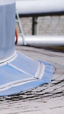 Foto de Faldón de prevención de la corrosión