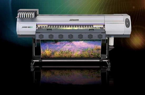 Foto de Impresora de tinta látex de gran formato