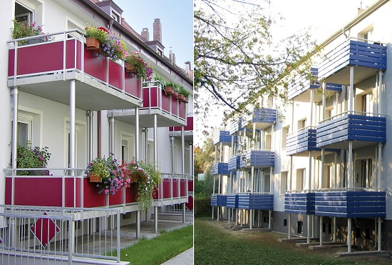 Foto de Sistema modular de balcones
