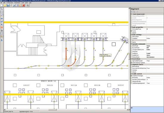 Foto de Software para gestión de rutas de vehículos AGV