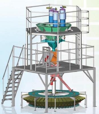 Foto de Sistema gravimétrico central de alimentación y mezcla