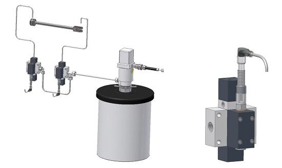 Foto de Sistemas de dosificación de grasa y aceite