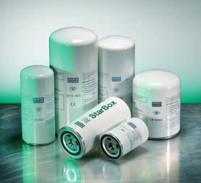 Foto de Elementos separadores aire/aceite blindados