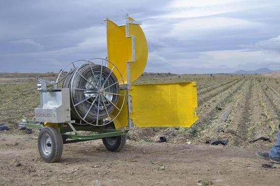 Foto de Recogedores hidráulicos para tuberías de riego por goteo