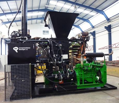 Foto de Equipo para el tratamiento de filtros de aceite
