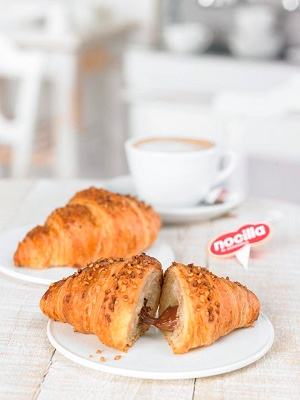 Foto de Croissants rellenos de Nocilla
