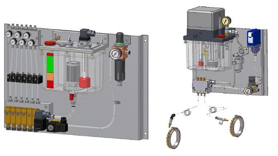Foto de Sistemas de engrase aire - aceite