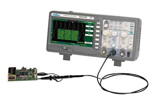 Foto de Osciloscopios digitales con dos canales