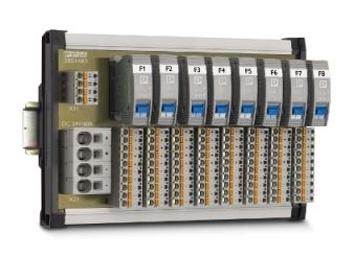 Foto de Placas con interruptores de protección