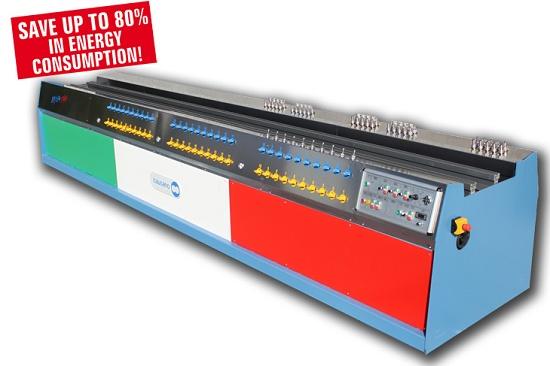Foto de Bancos de calibración y enfriamiento de perfiles
