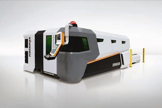 Foto de Máquina de corte plano por láser de fibra óptica