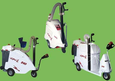 Foto de Aspiradora eléctrica para la limpieza vial