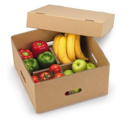 Caja para expedici n de frutas y verduras envase y - Oficina virtual de caja espana ...