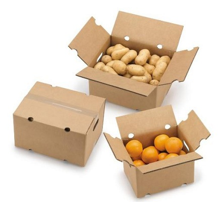 foto de caja para expedicin de frutas y verduras