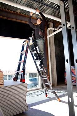 Foto de Escaleras de fibra de vidrio
