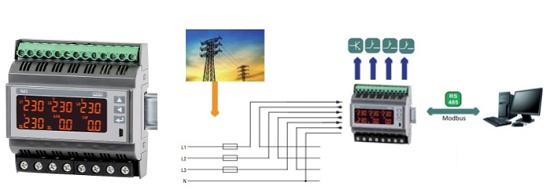 Foto de Analizadores de redes trifásicas