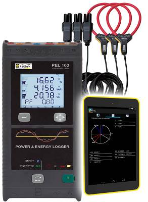 Foto de Registrador de potencia y energía