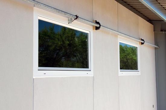 Foto de Entradas de aire de PVC y cristal