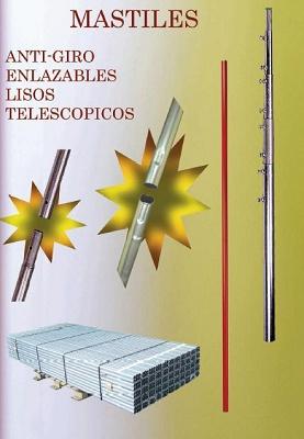 Foto de Mástiles para antenas terrestres y satélite