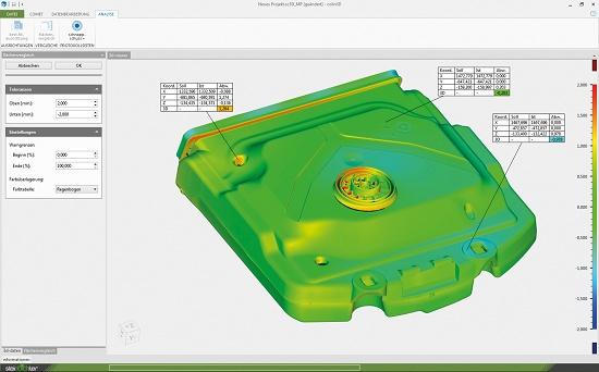 Foto de Software de digitalización 3D individual o automatizada