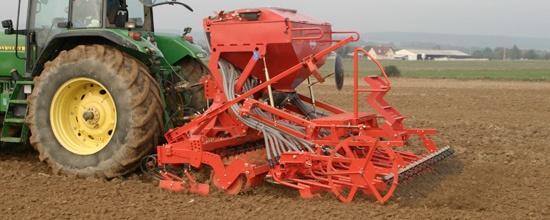 Foto de Gradas integradas para la preparación del lecho de siembra