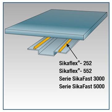 Foto de Sistemas de pegado y sellados elásticos y adhesivos estructurales