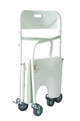 Silla de ducha plegable cod 3420614 equipamiento m dico for Sillas para ducha plegables