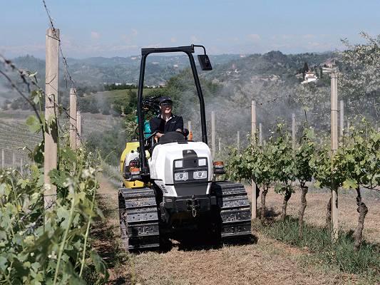 Foto de Tractores robustos de cadenas