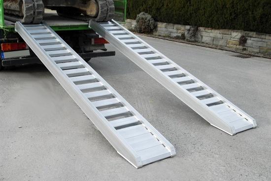 Foto de Rampas de carga de aluminio