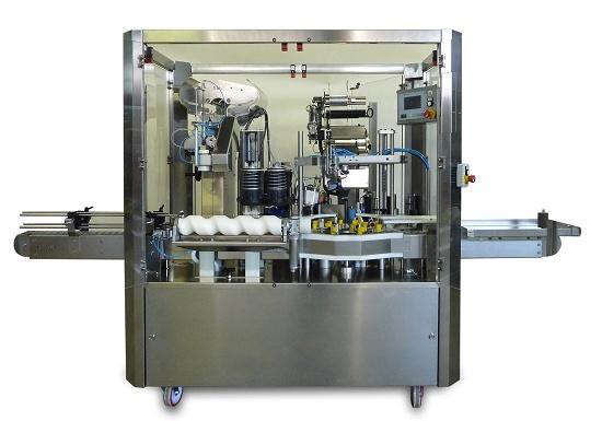 Foto de Máquinas capsuladoras etiquetadoras automáticas