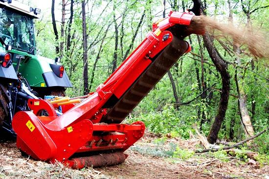 Foto de Trituradoras autorrecolectoras forestales