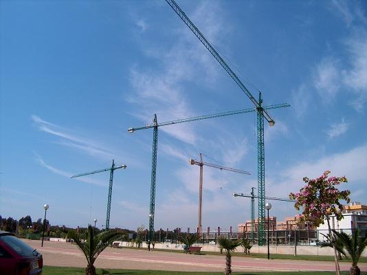 Foto de Alquiler de grúas torre