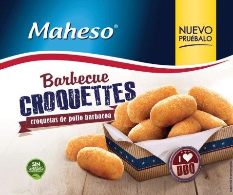 Foto de Croquetas de pollo barbacoa