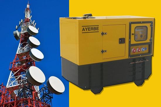 Foto de Grupos electrógenos en torres de comunicación