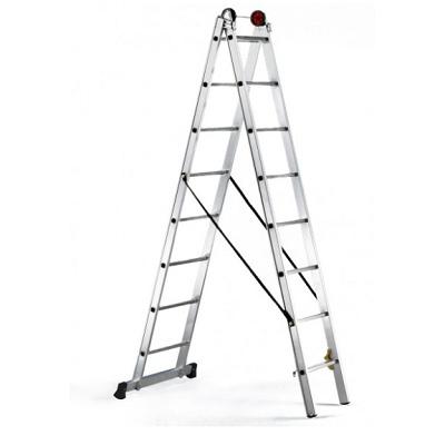 Foto de Escalera de alumino de tijera