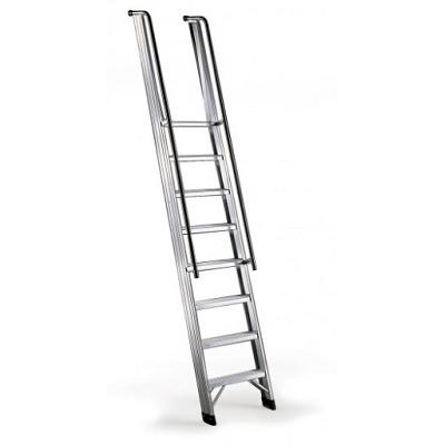 Foto de Escalera de alumino con pasamanos