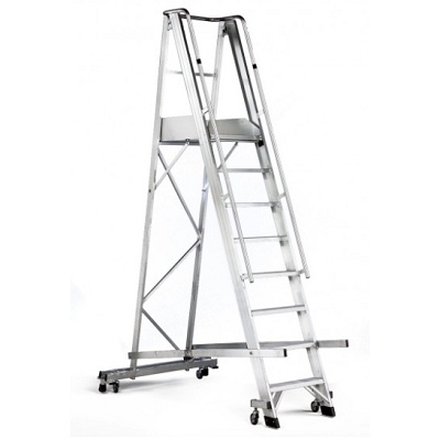 Foto de Escalera de aluminio para agricultura