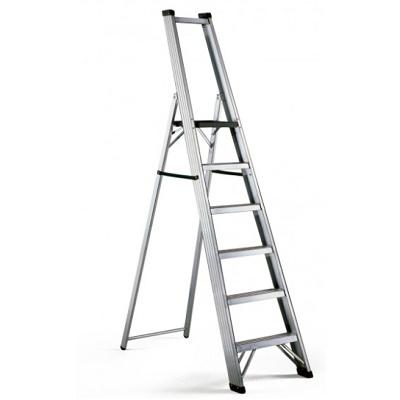 Foto de Escalera profesional con plataforma