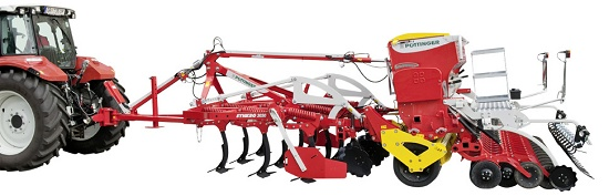 Foto de Combinación de cultivador y sembradora