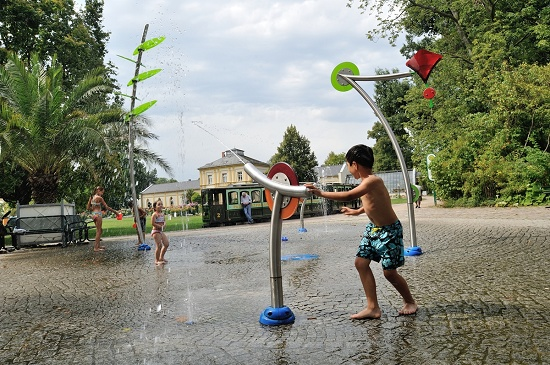 Foto de Parques de agua urbanos